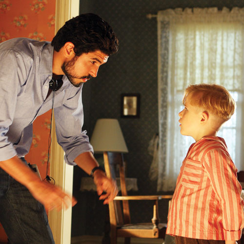 Alejandro Monteverde and Jakob Salvati in Little Boy