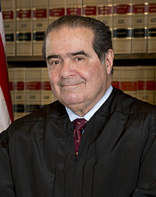 Justice Antonin Scalia official portrait