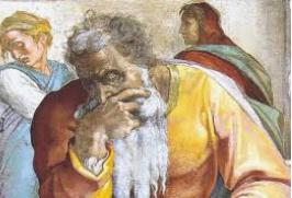 Prophet Jeremiah; Michelangelo; Sistine Chapel